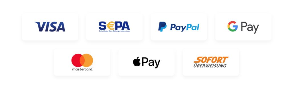 Sichere-Zahlungsmethoden